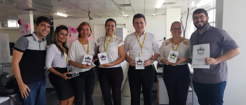 João Emanoel, Helainy Ramos, Edna Lima, Carolina de Farias, Herbert Lima, Fernanda Lopes e Marcelo Mateus.